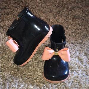 Mini Melissa sugar rainboots
